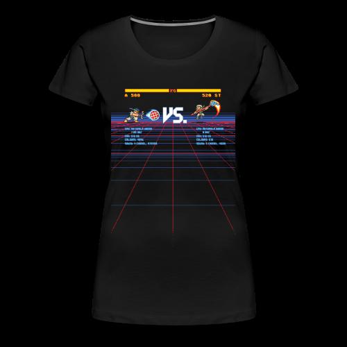 A 500 VS. 520 ST - Women's Premium T-Shirt