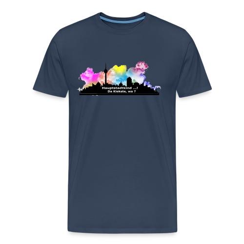 Berlin Skyline Männer T-Shirt Continental Clothing - Männer Premium T-Shirt