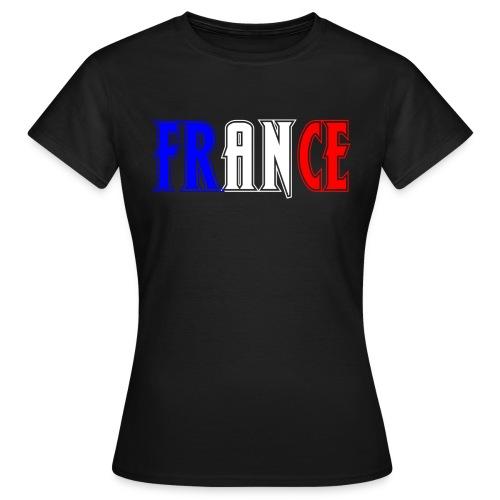 T-shirt Femme - France tricolore Bane - T-shirt Femme