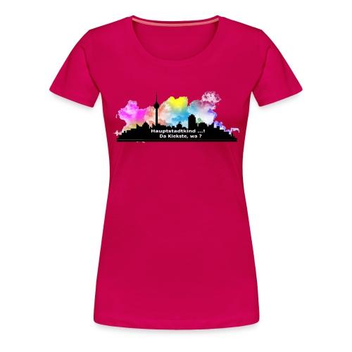 Berlin Skyline Frauen Girlieshirt - Frauen Premium T-Shirt
