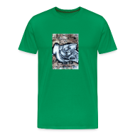 T-Shirts ~ Men's Premium T-Shirt ~   Art by Ian Wadsworth - Exclusive to Rad Dad Collective