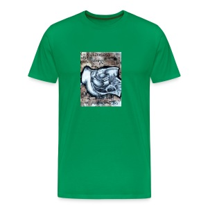 Art by Ian Wadsworth - Exclusive to Rad Dad Collective - Men's Premium T-Shirt