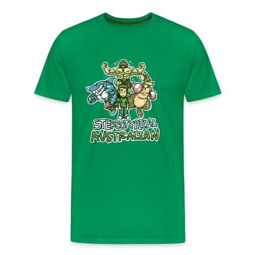 STEREOTYPICAL AUSTRALIAN M - Men's Premium T-Shirt