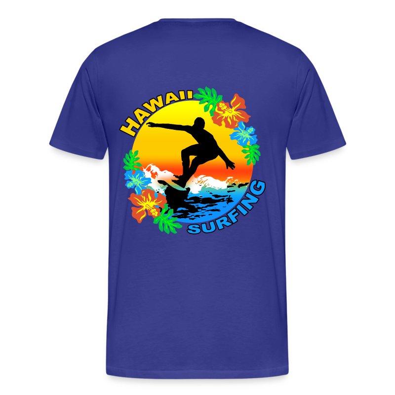 Hawaii Surfing Design T Shirt T Shirt Surf Design