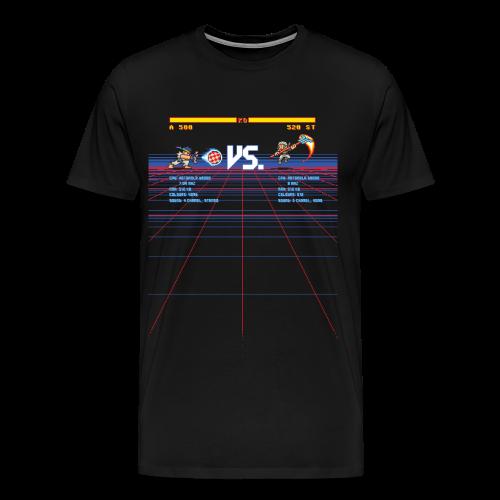A 500 VS. 520 ST - Men's Premium T-Shirt