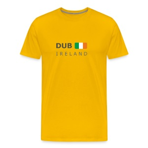 Classic T-Shirt DUB IRELAND dark-lettered - Men's Premium T-Shirt