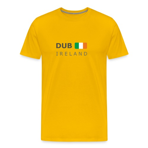 Classic T-Shirt DUB IRELAND dark-lettered - Men's Premium T-Shirt