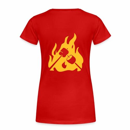 Marshmallow - T-shirt Premium Femme