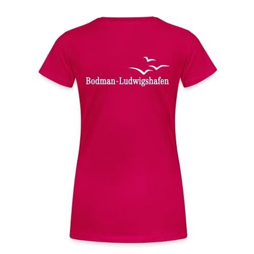 Damen T-Shirt Übergröße Bodman-Ludwigshafen - Frauen Premium T-Shirt