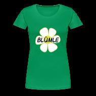 T-Shirts ~ Frauen Premium T-Shirt ~ blümle