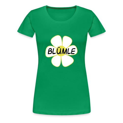 blümle - Frauen Premium T-Shirt