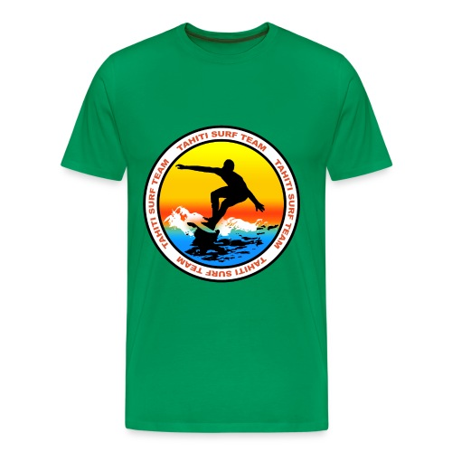 tahiti surf team t-shirt - Men's Premium T-Shirt