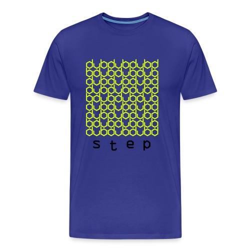 DUBstep - Neon Yellow/Black - Männer Premium T-Shirt