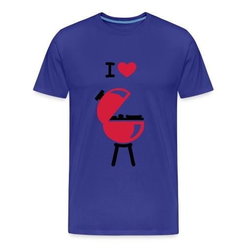 T-shirt with gun - Mannen Premium T-shirt