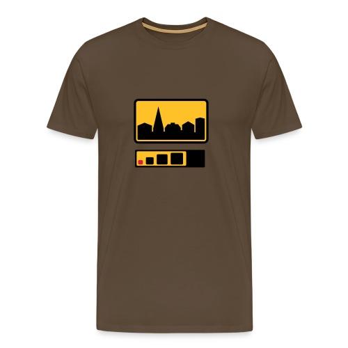 Urbaanimikrot - Miesten premium t-paita