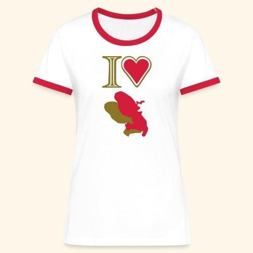 i love Martinique t-shirt - T-shirt contrasté Femme