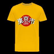 T-Shirts ~ Männer Premium T-Shirt ~ Tokyo City Japan (oldstyle)