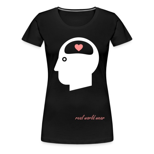 Think with your heart - Vrouwen Premium T-shirt