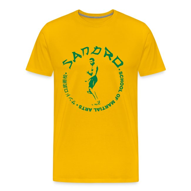 Sandro - School of Martial Arts (Yellow and Green)
