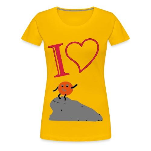 I love ... wanderine - Frauen Premium T-Shirt