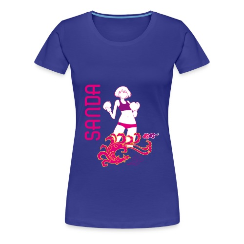 Tee Shirt Femme Sanda - T-shirt Premium Femme