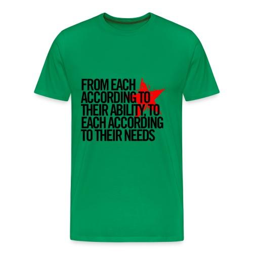From each....... - Men's Premium T-Shirt