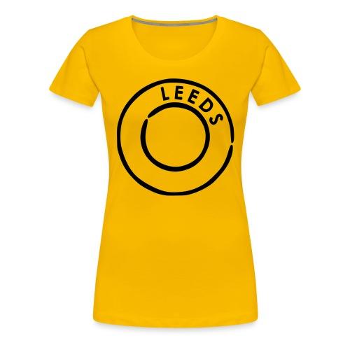 LadyLeeds - Dame premium T-shirt
