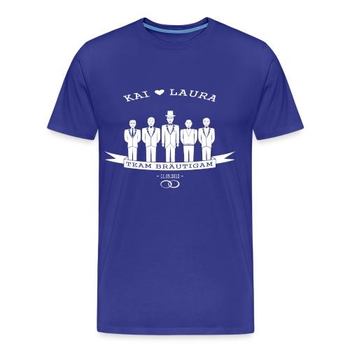 Team Bräutigam April Version - Männer Premium T-Shirt