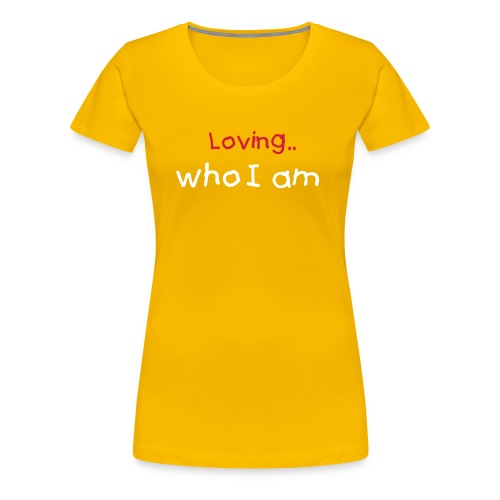 Love is  - Women's Premium T-Shirt