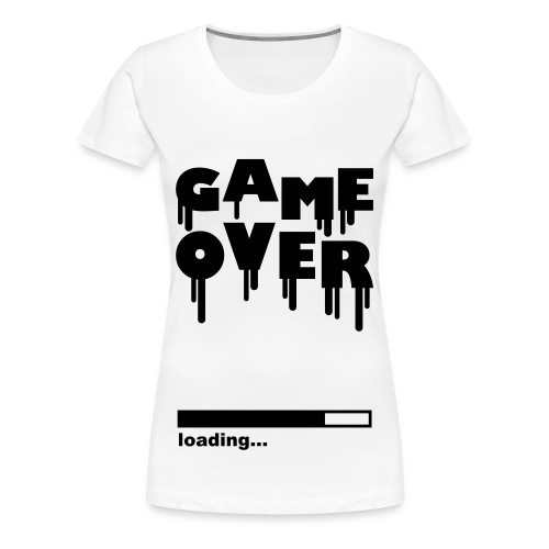Game over Clasic Voruw - Vrouwen Premium T-shirt
