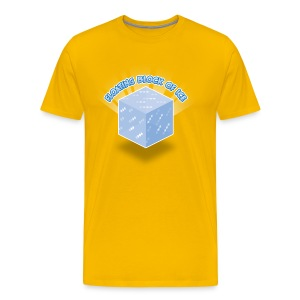 Floating Block of Ice Men's - Men's Premium T-Shirt