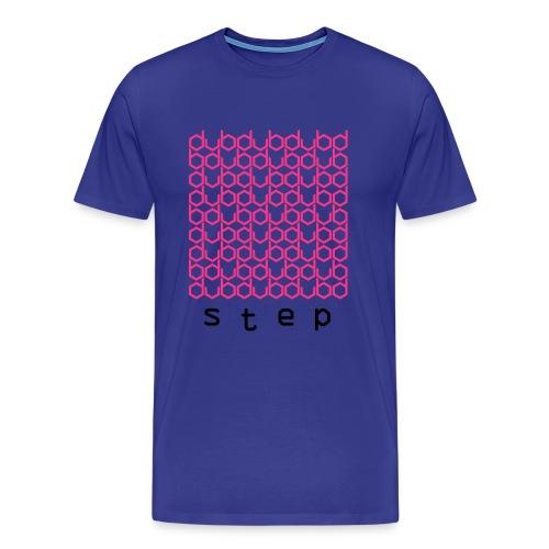 DUBstep - Neon Pink/Black - Männer Premium T-Shirt