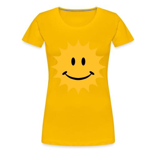 sunny - T-shirt Premium Femme