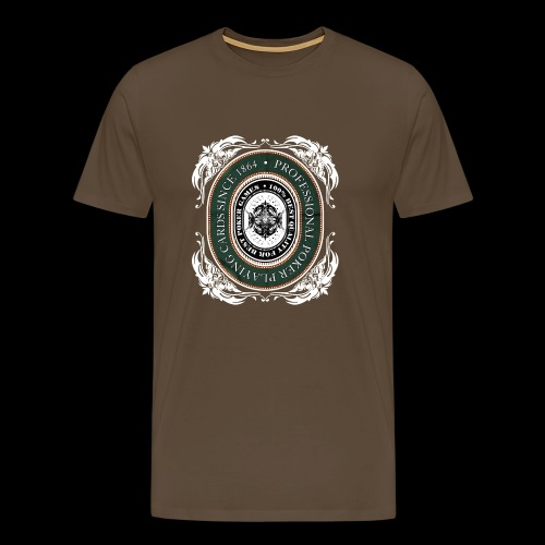 Poker Cards 1864 - Männer Premium T-Shirt