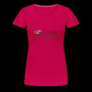 T-Shirts ~ Women's Premium T-Shirt ~ spirit of snooker woman