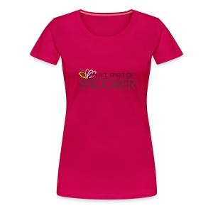 spirit of snooker woman - Frauen Premium T-Shirt