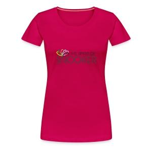 spirit of snooker woman - Frauen Premium T-Shirt