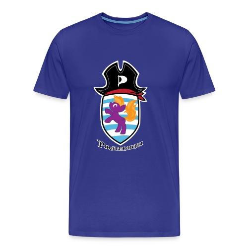 Ponywopen - Sky (Piraten) - Männer Premium T-Shirt