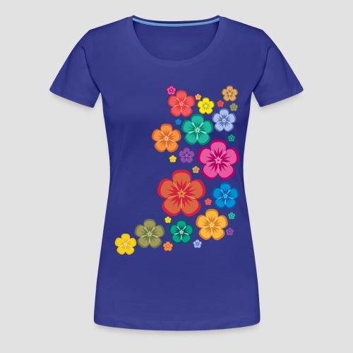 New Age Flower Power Girlieshirt - Frauen Premium T-Shirt