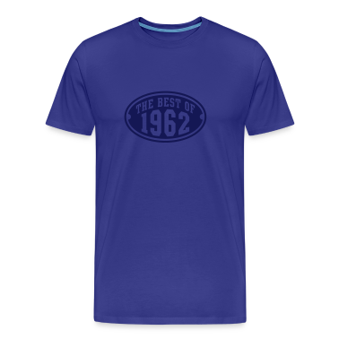 THE BEST OF 1962 - Birthday Anniversary T-Shirt NS