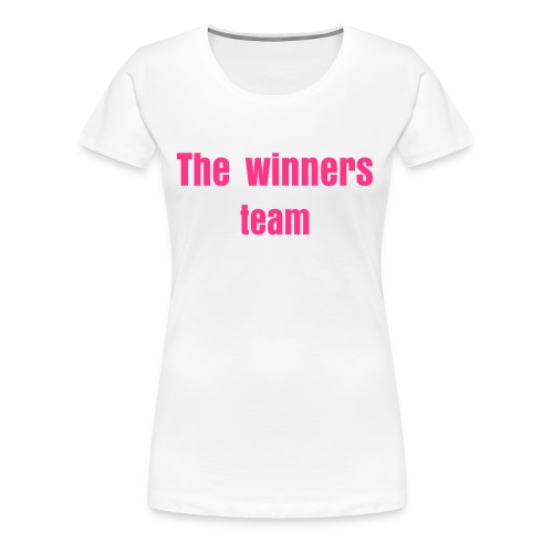 The winners team - T-shirt Premium Femme