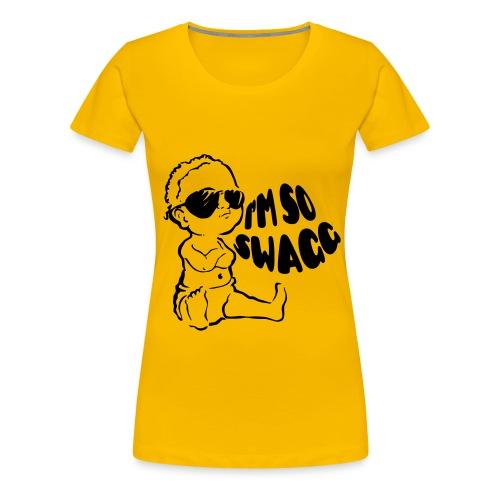 t shirt femme swagg - T-shirt Premium Femme