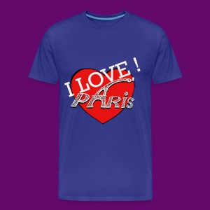 I LOVE PARIS ! - T-shirt Premium Homme