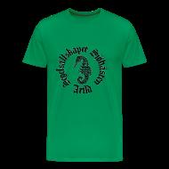T-shirts ~ Premium-T-shirt herr ~ Sjöhästen Klassisk T-shirt herr