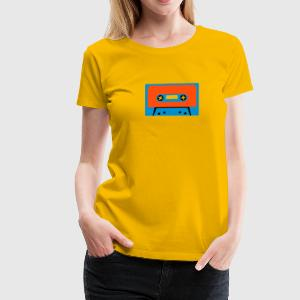Vintage Tape design T-Shirt - Women's Premium T-Shirt