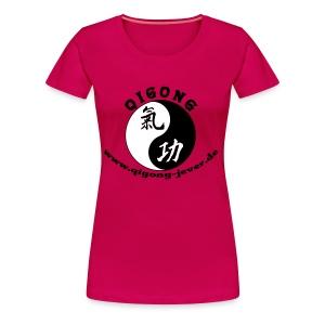 Qigong in Jever Girlie - Frauen Premium T-Shirt