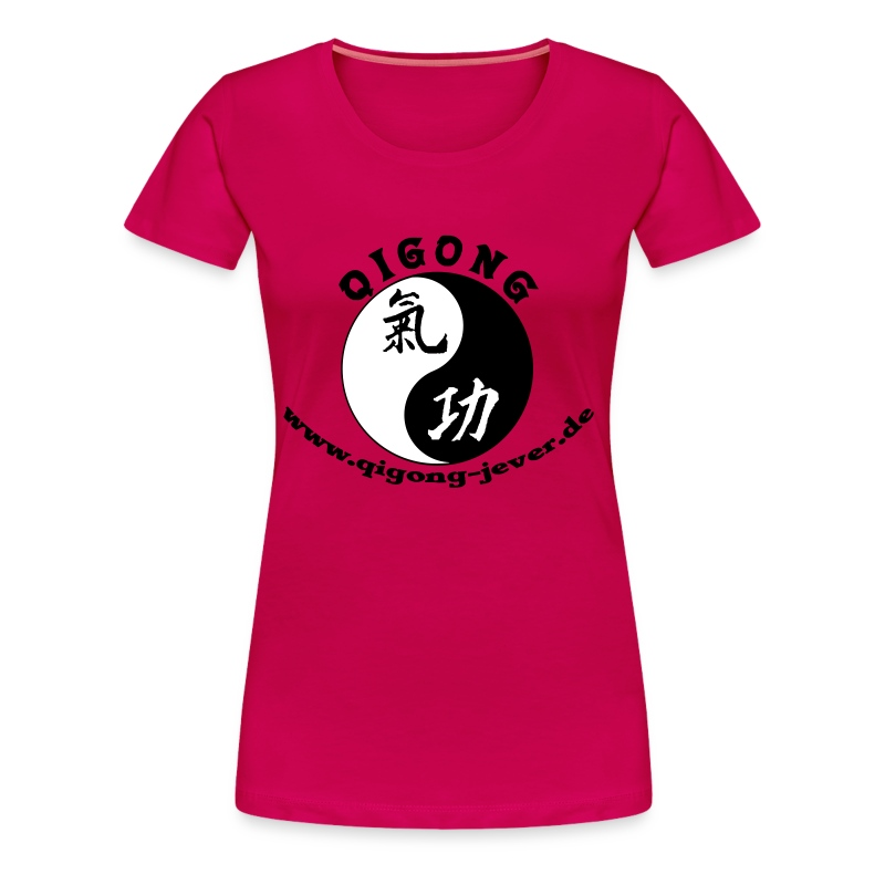 Qigong in Jever Girlie - Frauen Premium T-Shirt