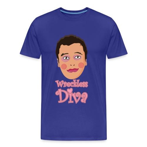 Wreckless Diva - Men's Premium T-Shirt