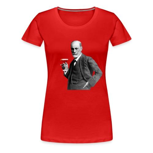 Freundlicher Sigmund Freud T-Shirt Damen - Frauen Premium T-Shirt