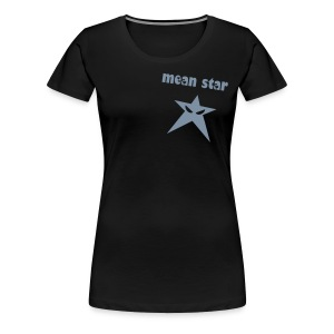 mean star - Frauen Premium T-Shirt